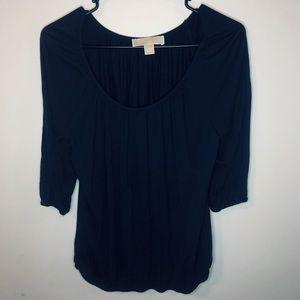 Michael Kors Novy Blue blouse